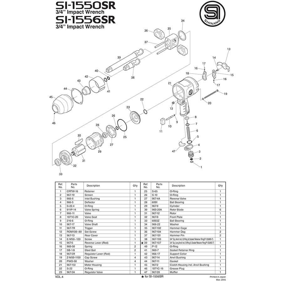 نقشه بکس 3/4 شینانو مدل 1550
