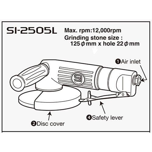 مینی فرز بادی شینانو SI2505L