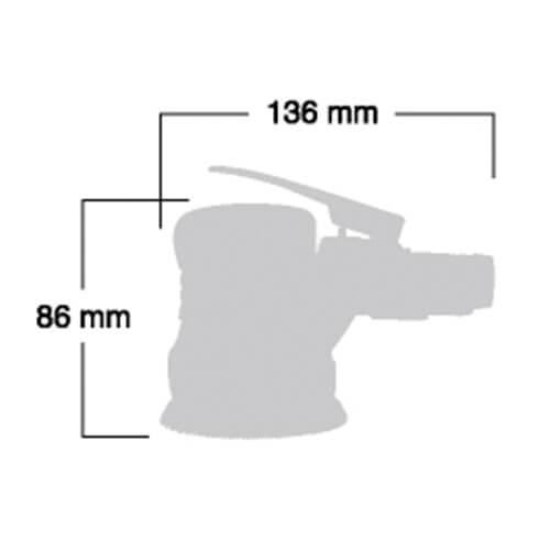 سنباده بادی شینانو SI3101M