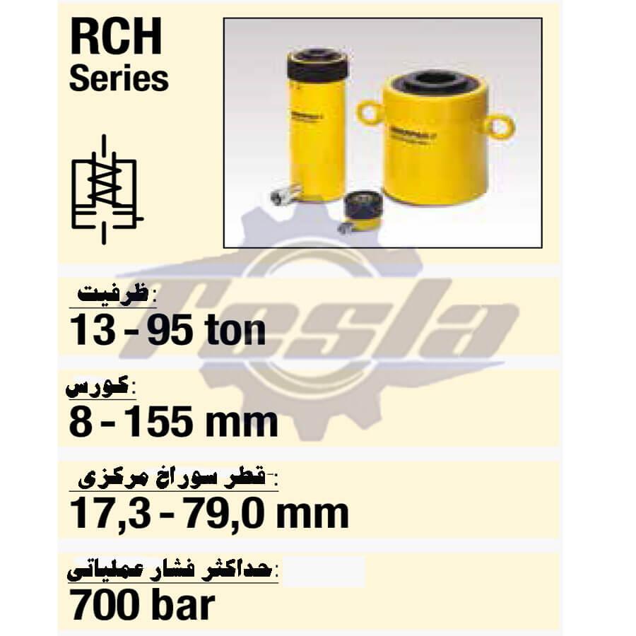 مشخصات فنی جک هیدرولیکی اینرپک RCH