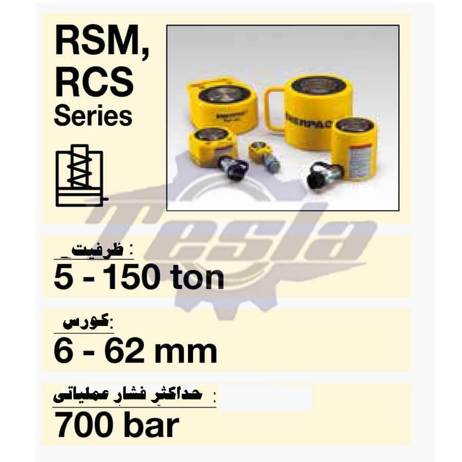 جک های هیدرولیکی RSM اینرپک